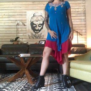Layered beautiful Indian dress